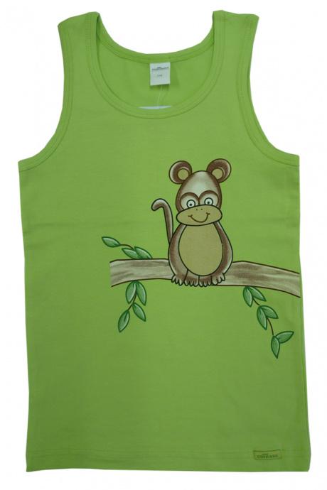 Comazo Lieblingswäsche, Unterhemd für Jungen in kiwi