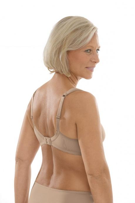 Comazo Unterwäsche, Komfort-BH für Damen in skin - Rückansicht