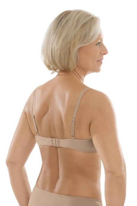 Comazo Unterwäsche, Spacer-BH für Damen in skin - Rückansicht