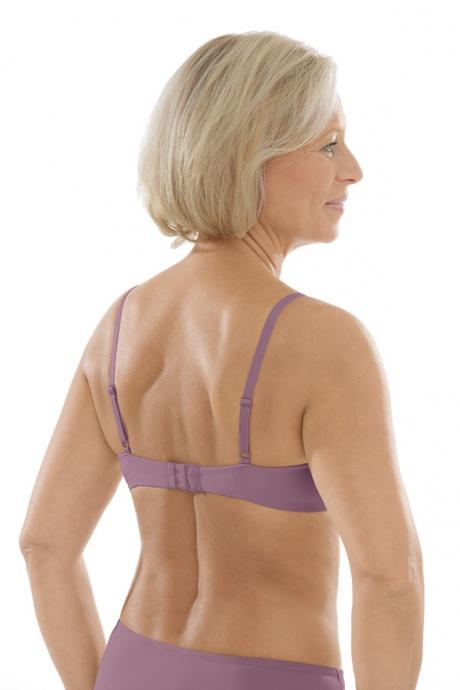Comazo Unterwäsche, Spacer-BH für Damen in mauve - Rückansicht