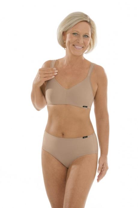 Comazo Unterwäsche, Komfort-Slip für Damen in skin - Gesamtansicht
