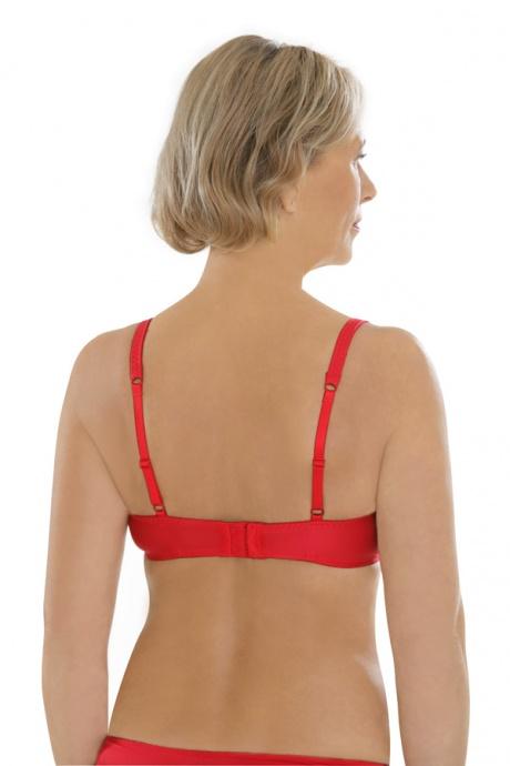 Comazo Unterwäsche, Bügel-BH für Damen in rot - Rückansicht