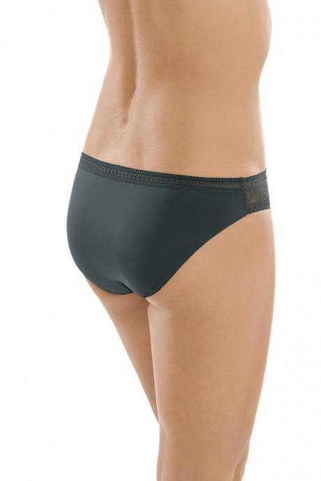 Comazo Unterwäsche, Rio-Slip für Damen in darkgrey - Rückansicht