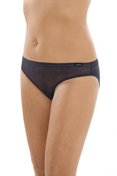 Comazo Unterwäsche, Rio-Slip für Damen in blackblue - Vorderansicht