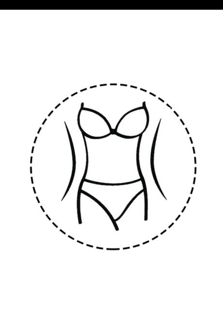 Comazo Shapewear, Slip figurformend für Damen, schwarz