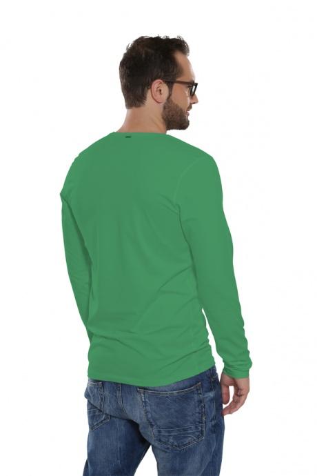 Comazo Lieblingswäsche Basic Shirt, pinie - Rückansicht