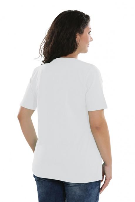 Comazo Lieblingswäsche Basic-Shirt, weiss - Rückansicht