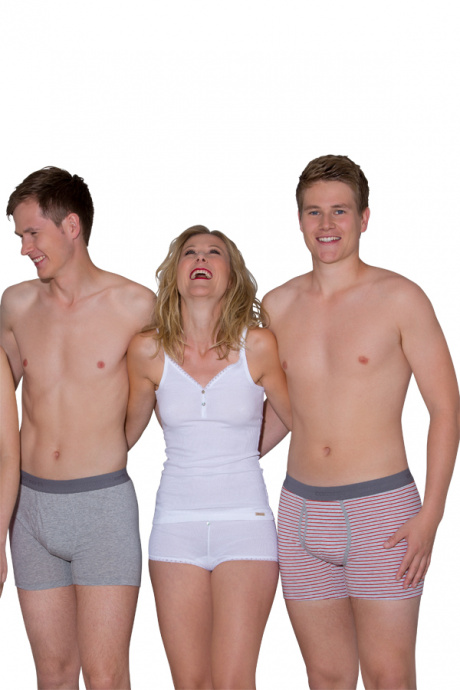 Comazo Biowäsche, Unterhemd für Damen in weiss - Gesamtansicht