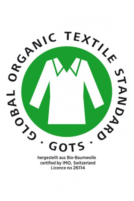 Comazo Biowäsche GOTS zertifiziert