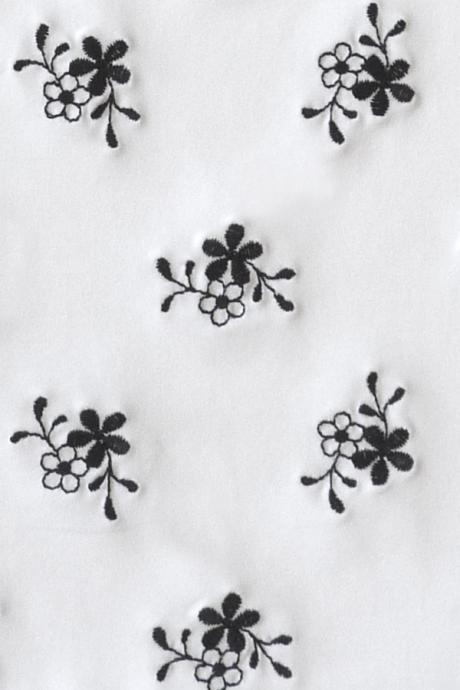 Comazo Lieblingswäsche, Bügel-BH für Damen mit Stickblümchen in weiss/schwarz