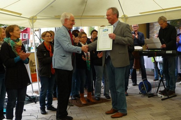 "Albstadt trägt den Titel ""Fairtrade-Town"""