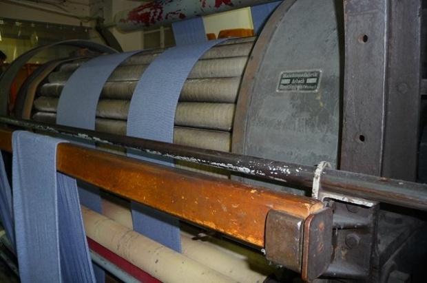 Der älteste Mitarbeiter bei Comazo - Die Rauhmaschine