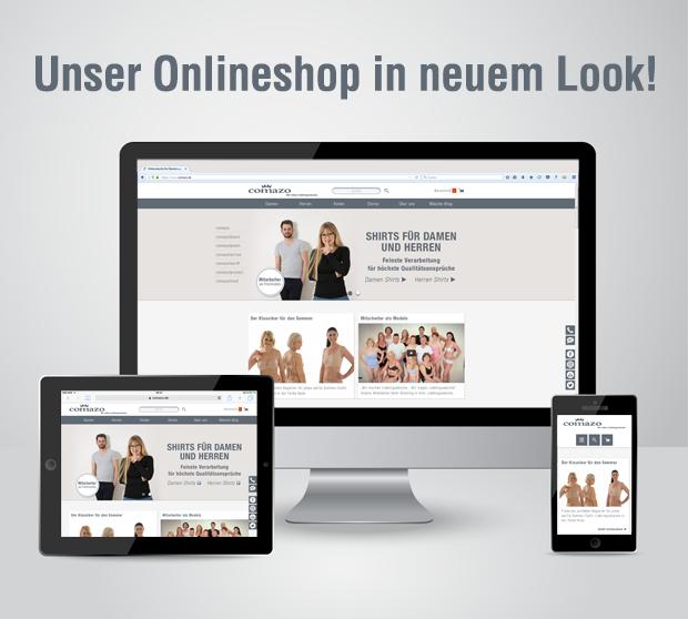 Unser Onlineshop in neuem Look!