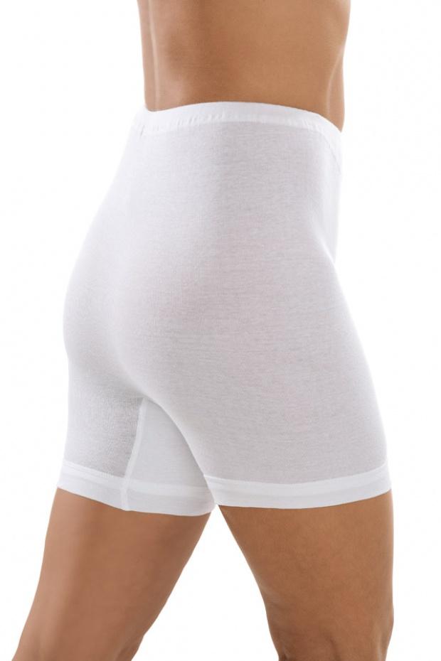 Comazo Klassik Jazz-Pants Taillen Slip ohne Seitennähte perfekte Passform weiß