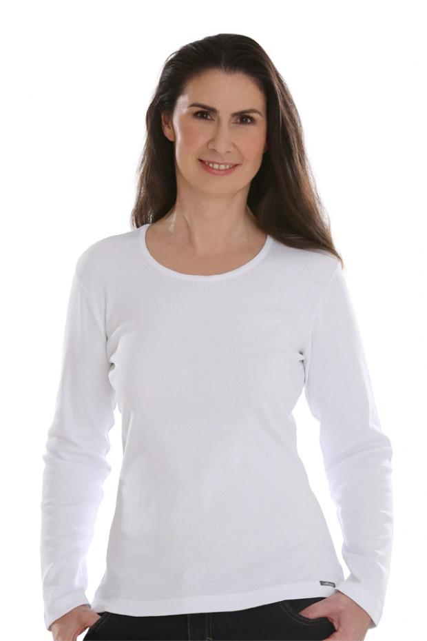 4789000ba40aa2 Basic Shirt langarm   Comazo Onlineshop