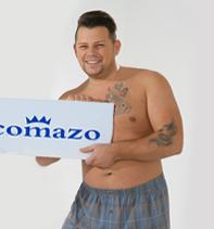 Comazo Mitarbeiter als Fotomodels - Enzo