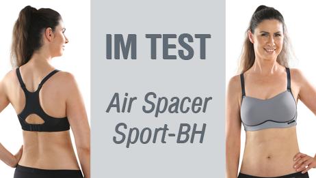 Comazo Air Spacer im Sport-BH Test