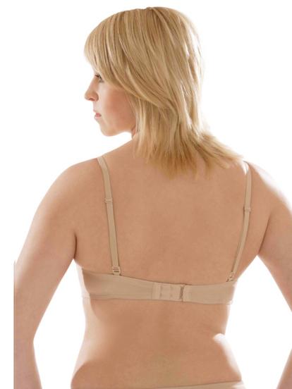 Comazo Unterwäsche, Balconette-BH für Damen in skin - Rückansicht