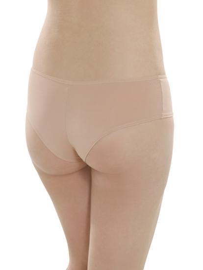 Comazo Unterwäsche, Brasilian-Slip für Damen in skin- Rückansicht