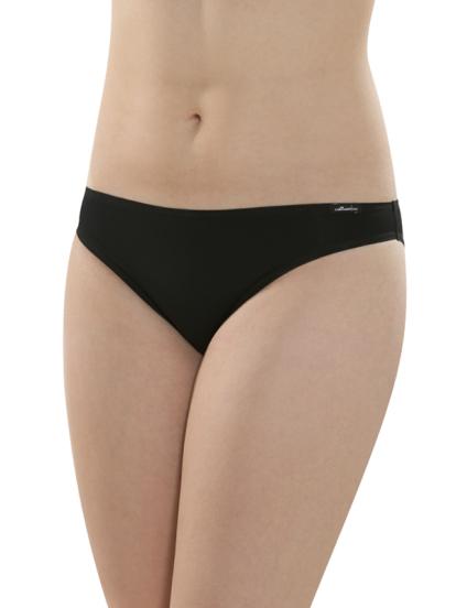 Comazo Unterwäsche, Mini-Slip für Damen in schwarz - Vorderansicht