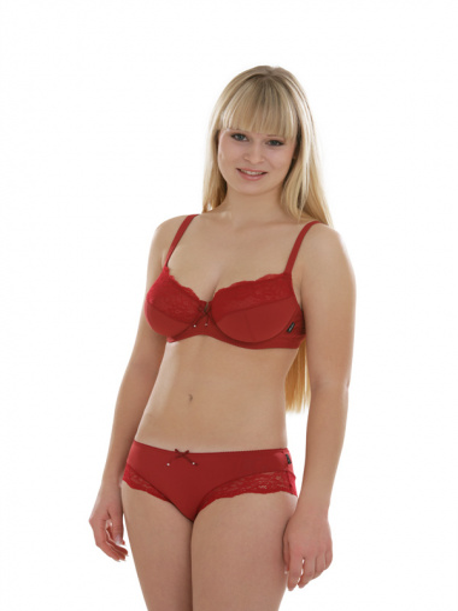 Comazo Unterwäsche, Hipster für Damen in rot - Gesamtansicht