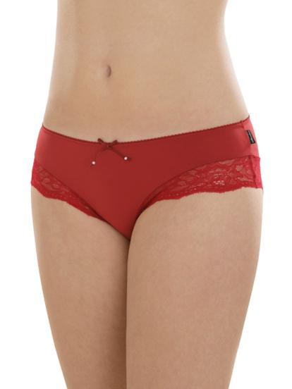 Comazo Unterwäsche, Hipster für Damen in rot - Vorderansicht