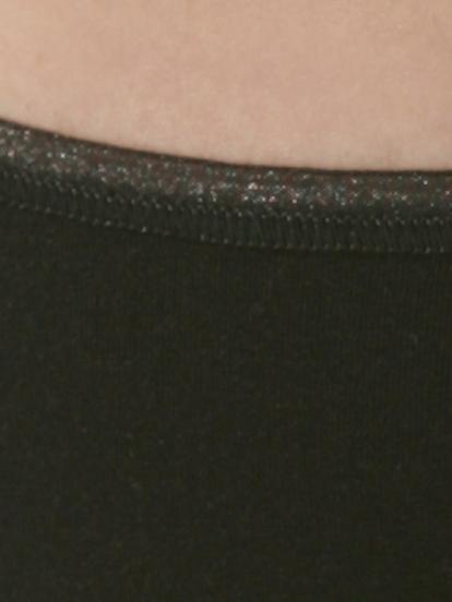 Comazo Unterwäsche, Rio-Slip für Damen in schwarz - Detailansicht