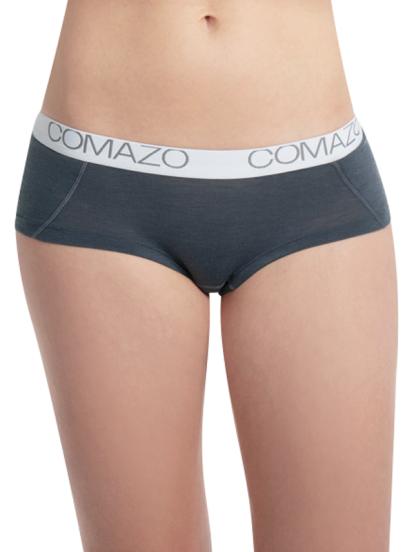 Comazo Lieblingswäsche Damen Panty in dunkelgrau
