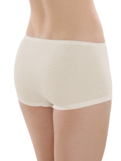 Comazo Biowäsche, Panty für Damen in bio-natur