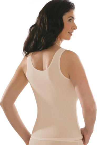 Comazo Unterwäsche, Unterhemd für Damen in powder