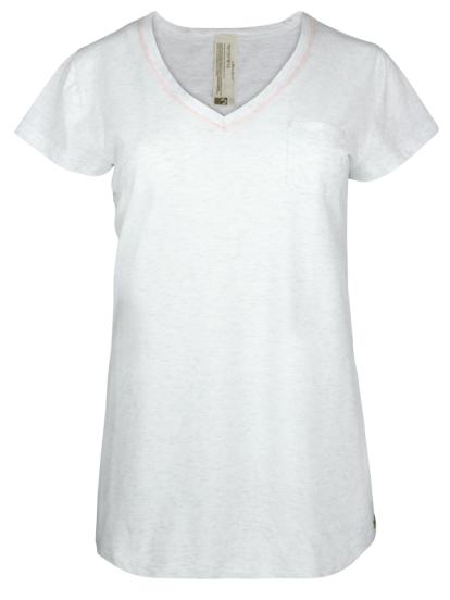 Comazo Lieblingswäsche Shirt in ecru-melange für damen