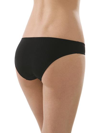 Comazo Unterwäsche, Jazz-Pants für Damen in schwarz - Rückansicht