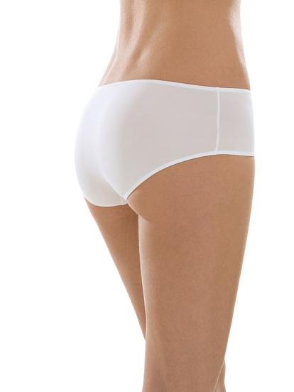 Comazo Unterwäsche, Hipster für Damen in weiss - Rückansicht