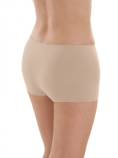 Comazo Funktionswäsche, Seamless Hot-Pants in skin - Rückansicht