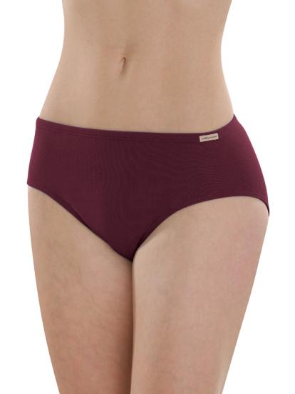Comazo Biowäsche, Jazz-Pants für Damen in burgund