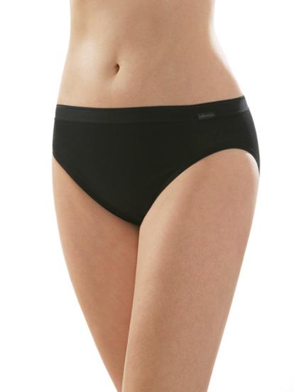 Comazo Unterwäsche, Jazz-Pants für Damen in schwarz - Vorderansicht