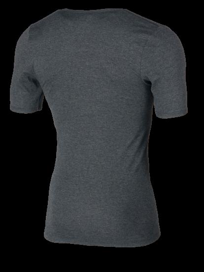 Shirt 1/4 Arm grau Rückseite