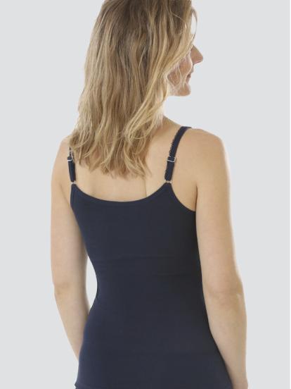 Comazo Biowäsche, Unterhemd für Damen in marine