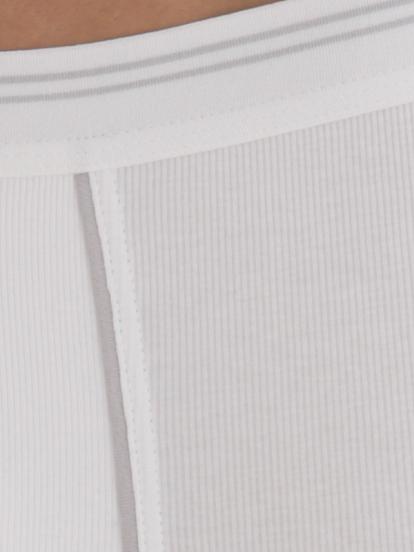 Comazo Biowäsche, Pants in weiss - Detailansicht