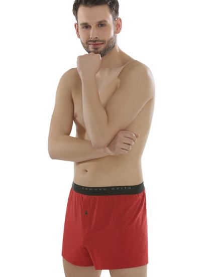 Comazo Biowäsche Fairtrade Boxer-Shorts in salsa
