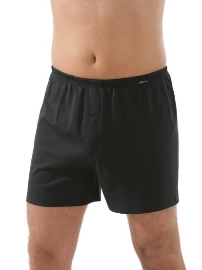 Comazo Unterwäsche, Boxer-Shorts in schwarz - Vorderansicht