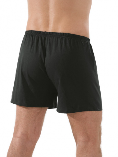 Comazo Unterwäsche, Boxer-Shorts in schwarz - Rückansicht