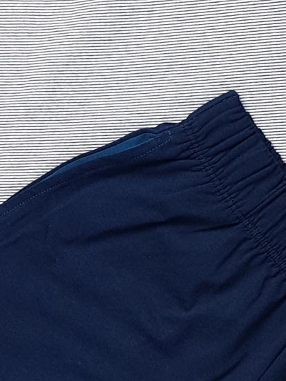 Comazo Lieblingswäsche Jungen Schlafanzug Pyjama in navy