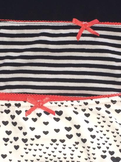 Comazo Unterwäsche, Brasil Slip für Damen in schwarz-weiss