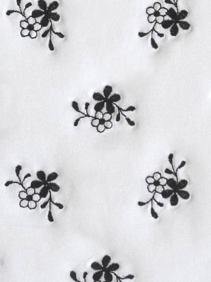 Comazo Unterwäsche, Padding-BH für Damen mit Stickblümchen in weiss/schwarz